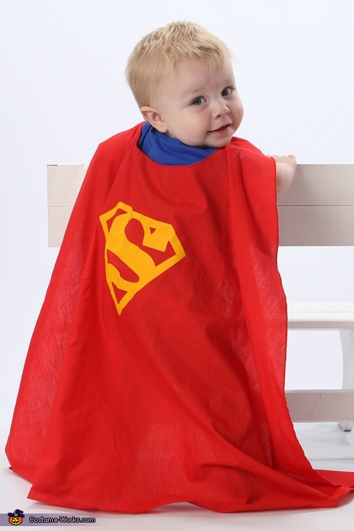 clark kent superman baby costume photo 4 4. Black Bedroom Furniture Sets. Home Design Ideas