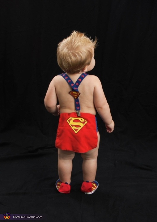 Whip.... Now watch me Superman!, Superman's Baby - Kent Clark Jr. Costume