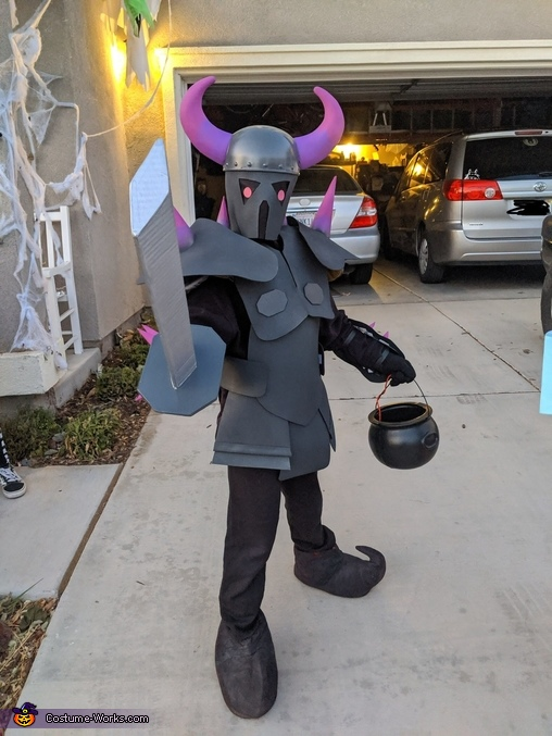 Clash of Clans PEKKA, Clash of Clans Family Costume
