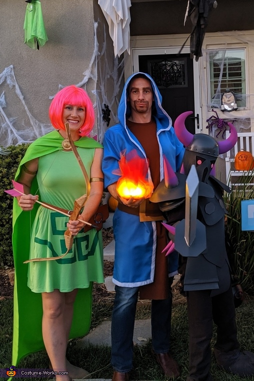 Clash of Clans Family again, Clash of Clans Family Costume