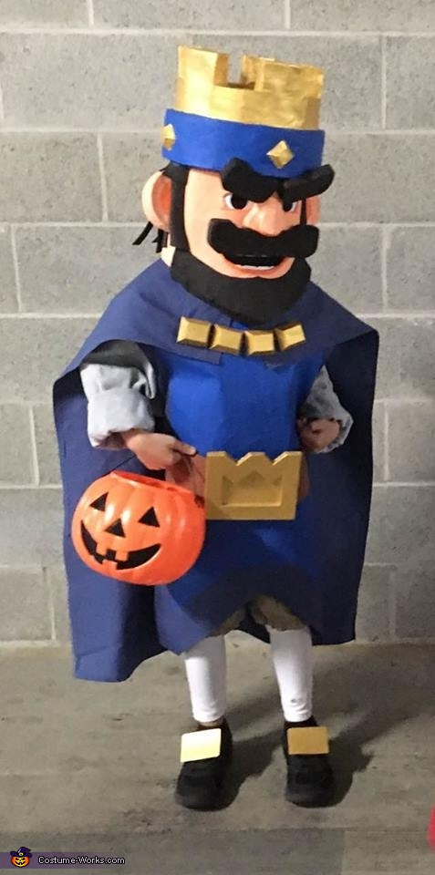 Clash Royale King Costume
