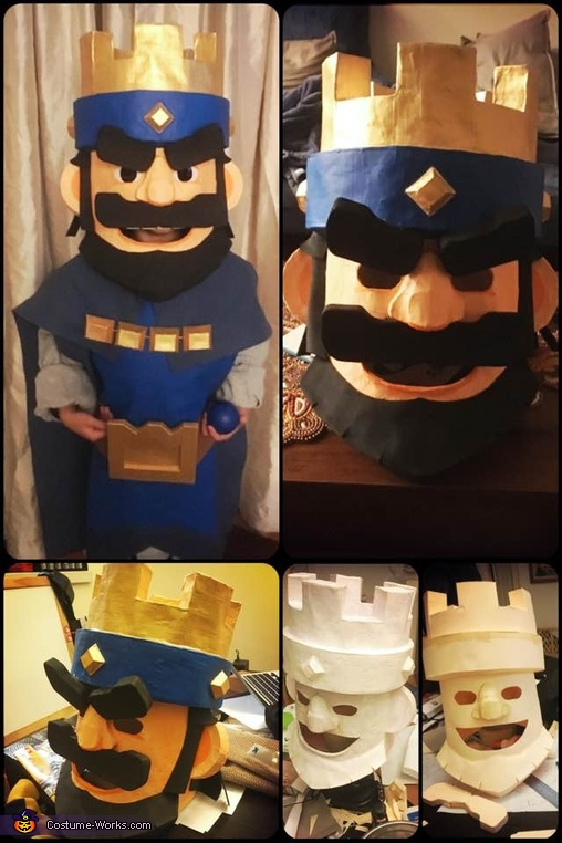 The Making, Clash Royale King Costume