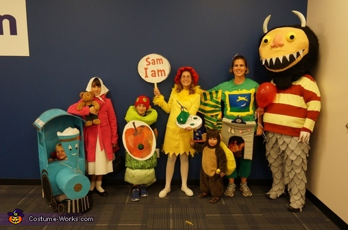 Classic Children's Books Family Costume