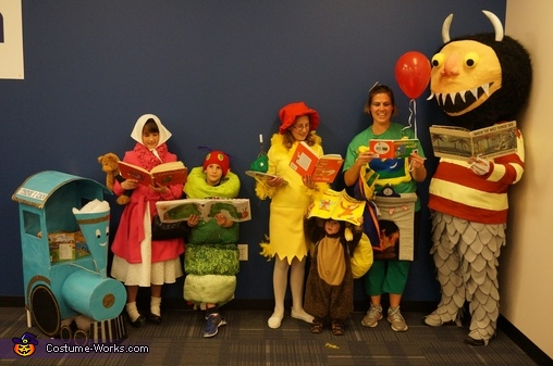 Classic Children's Books Family Homemade Costume