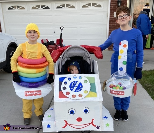 Classic Fisher Price Toys Costume