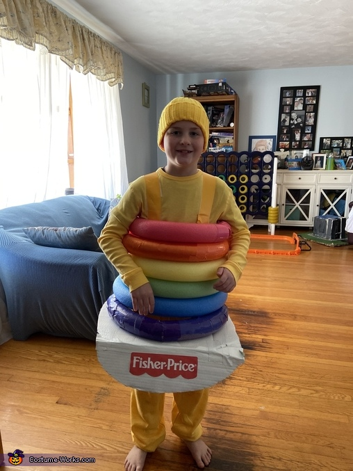 Rack a Stack, Classic Fisher Price Toys Costume