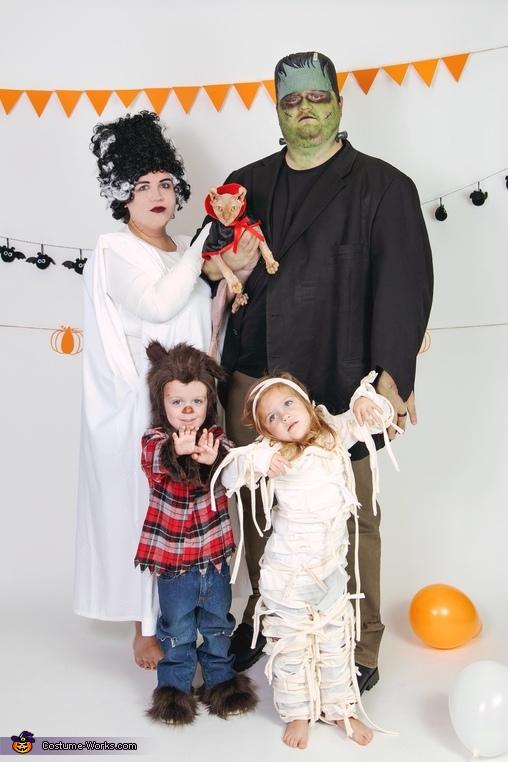 Classic Monster Squad Costume