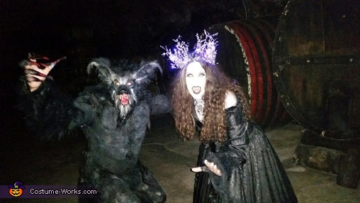 A werewolf and his true love, Classic Werewolf Lycan Costume