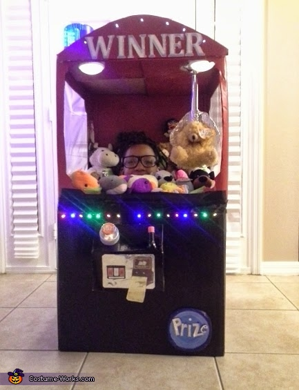 Claw Game Homemade Costume