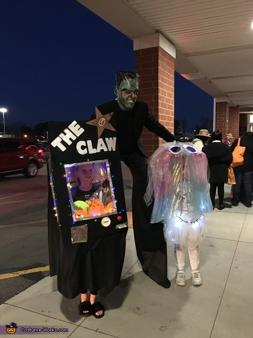 Claw Machine Homemade Costume