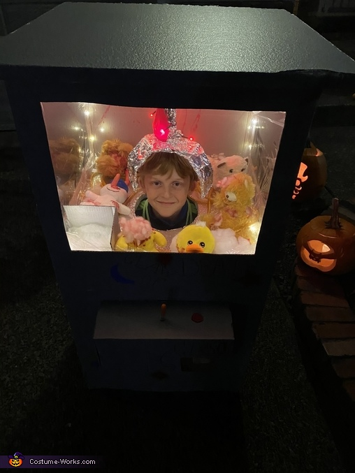 Claw of Death Machine Homemade Costume