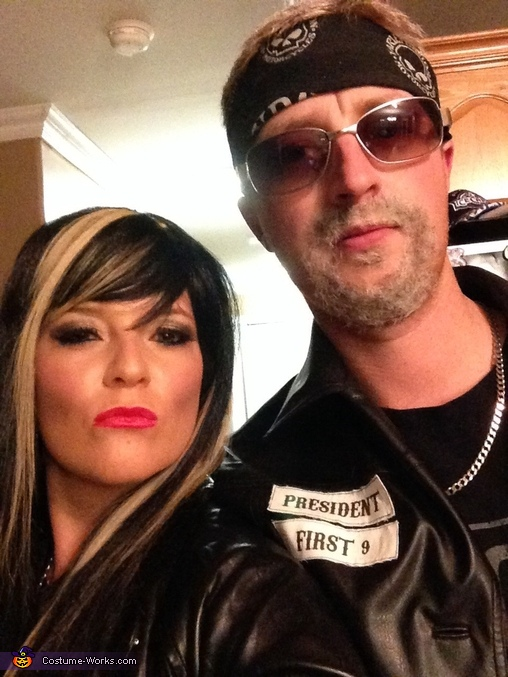 Sons Of Anarchy Clay And Gemma Costume