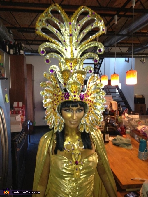 Headdress, Cleopatra Costume