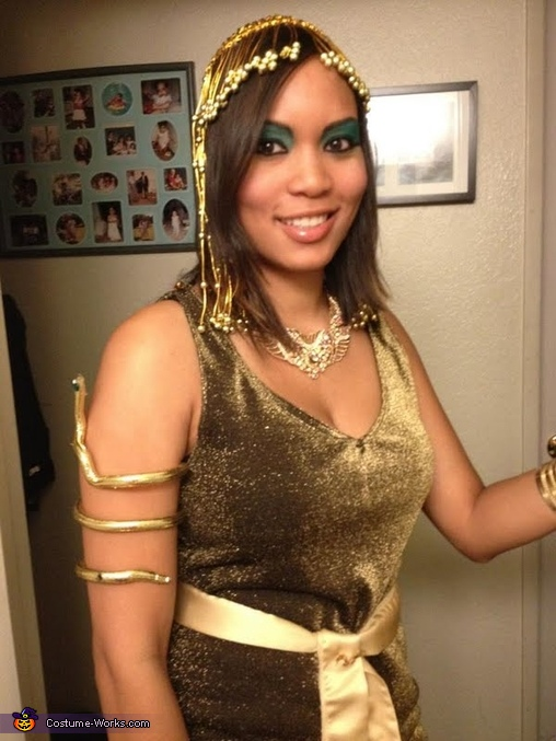 Diy Cleopatra Costume For Women Last Minute Costume Ideas