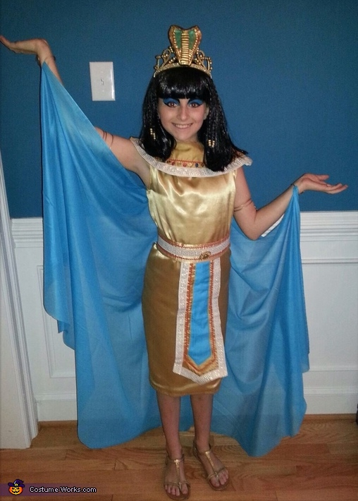 Cleopatra Halloween Costume For Girls
