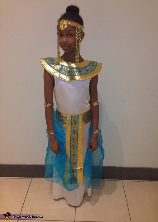 Cleopatra Homemade Costume