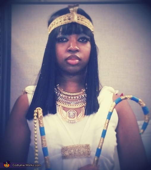 Homemade Cleopatra Costume