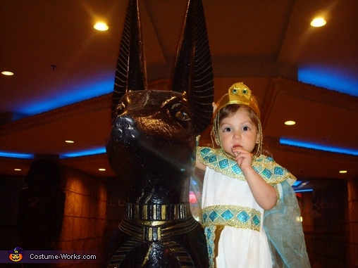 Hanging out with Anubis., Cleopatra Costume