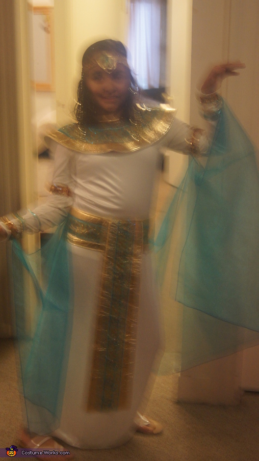 Cleopatra Halloween Costume for Girls