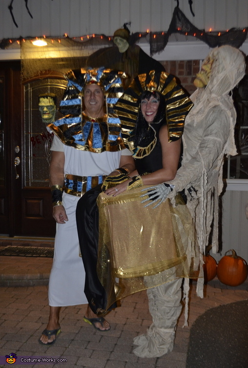 Cleopatra and Her Mummy Costume