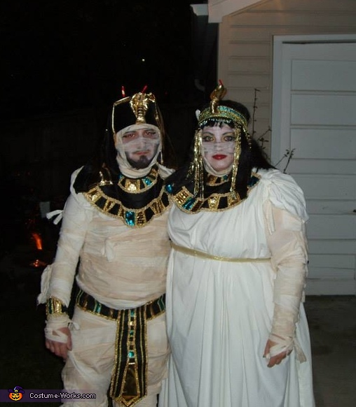 Cleopatra & King Tut Mummy Costume