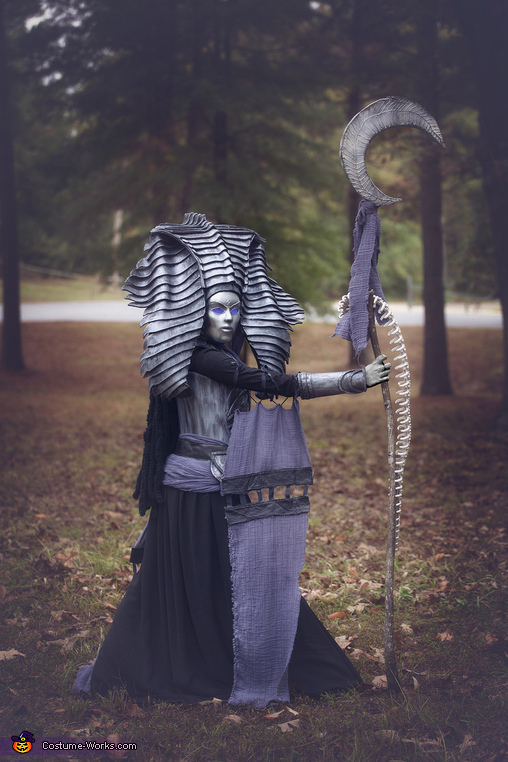 Side view 2, Cleopsis Costume