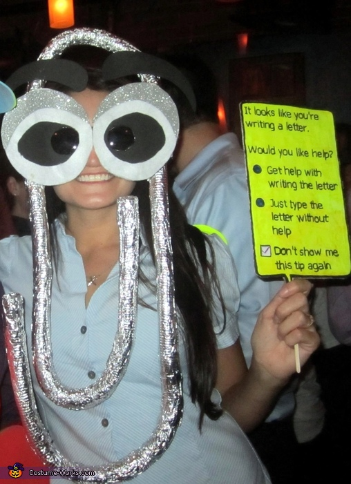 Clippy Costume