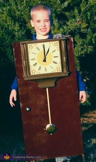 Hickory Dickory Dock Clock Costume