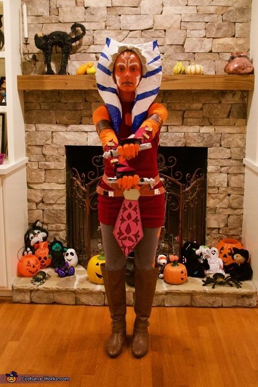 Front of costume, Clone Wars Ahsoka Tano Costume