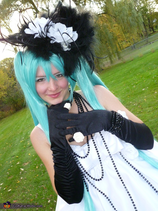 Close up, Hatsune Miku Costume
