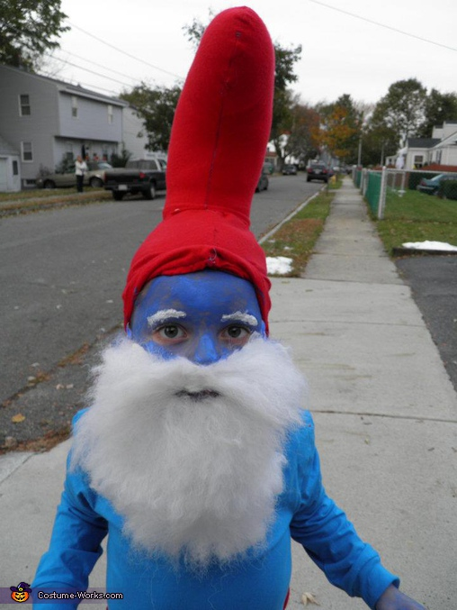 Papa Smurf - Homemade costumes for boys