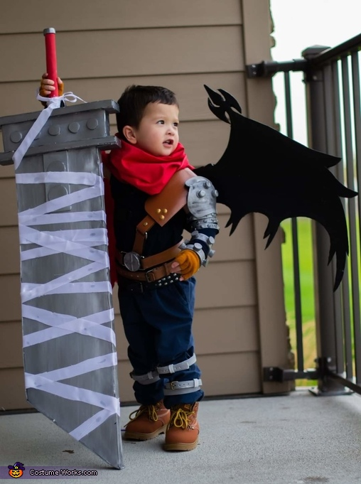Cloud of Final Fantasy Homemade Costume