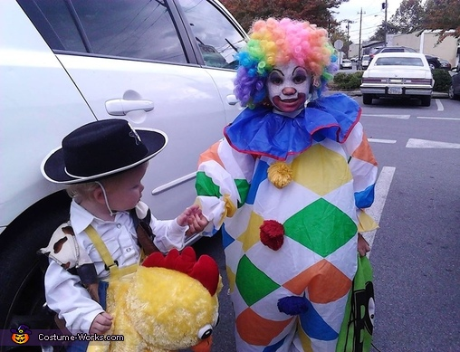 Clown and Cowboy Costume