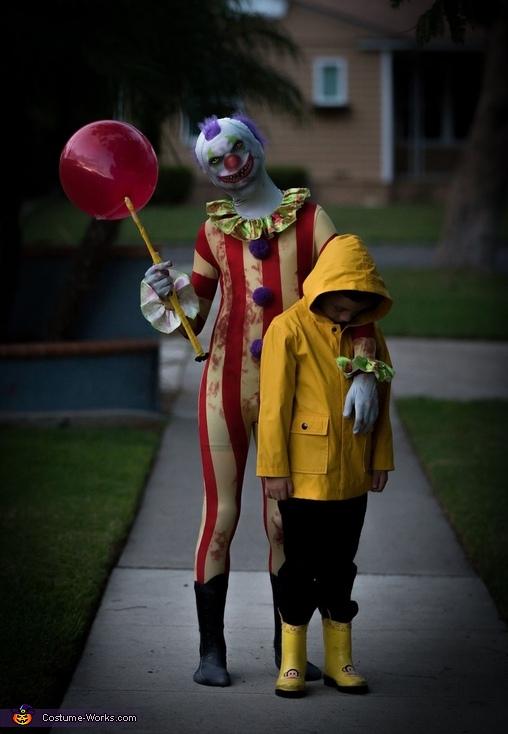 Clown and Georgie Costume