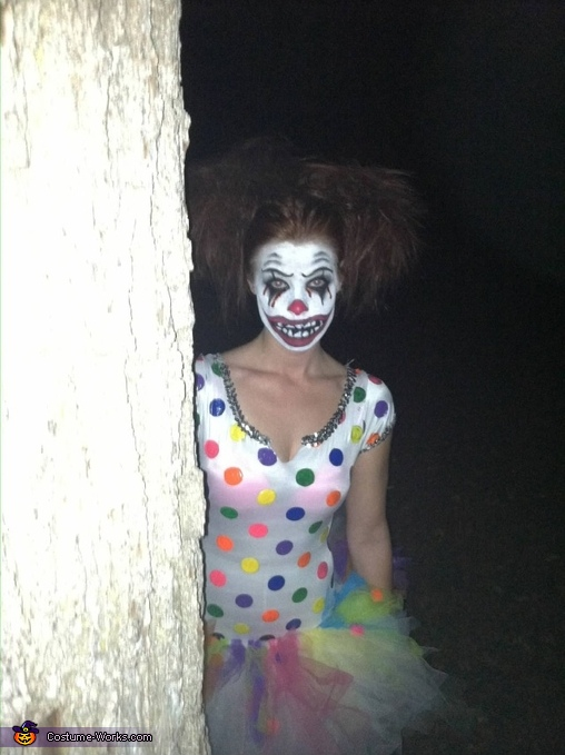 Don't walk into the woods alone..., Clown Bright Costume