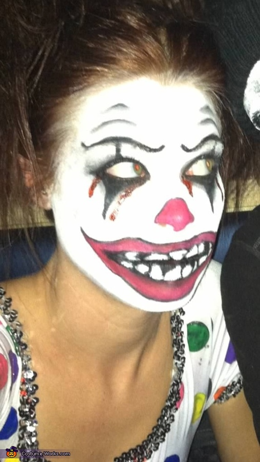 Single...! Any takers? , Clown Bright Costume