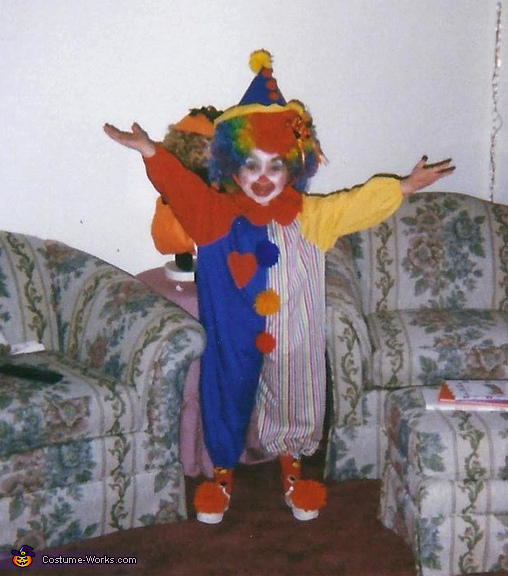 Homemade Clown Costume