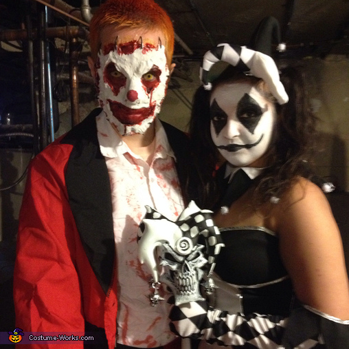 Clown Couple Costume