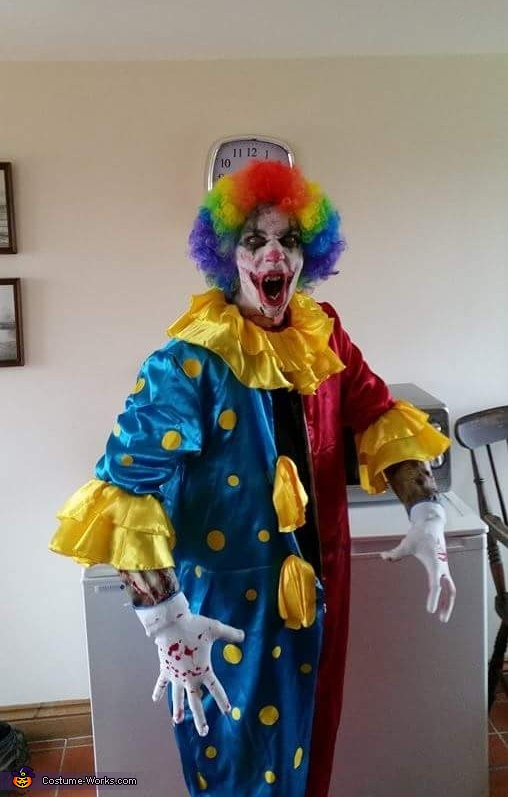 Clown Craigy Costume