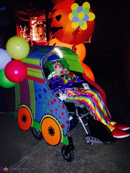 Clown in a Clown Car Costume