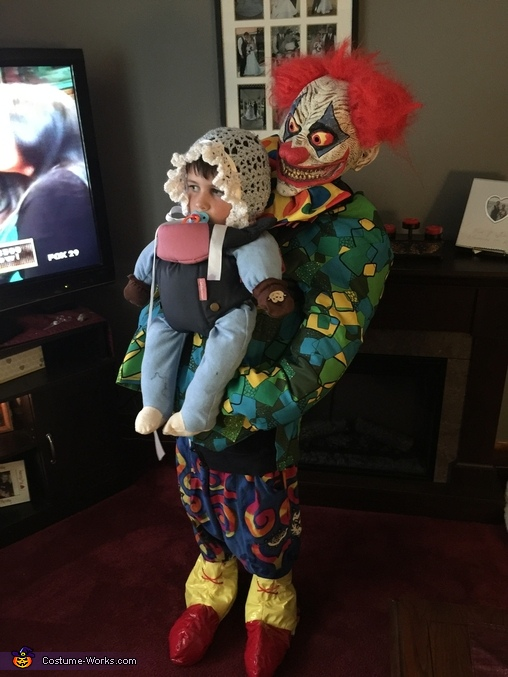 Clown Kidnapping Baby Costume