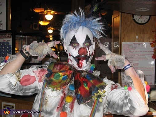 Clown Zombie Costume