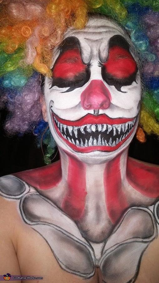 Clownin' Around Halloween Costume