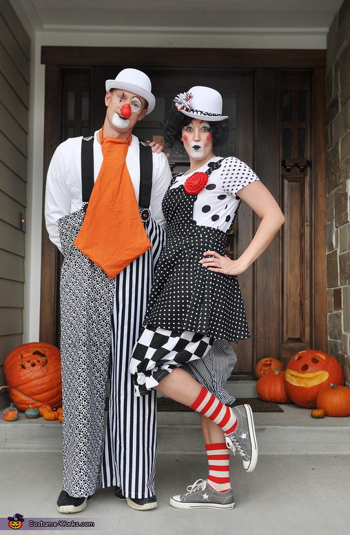 Clowning Around Homemade Costume