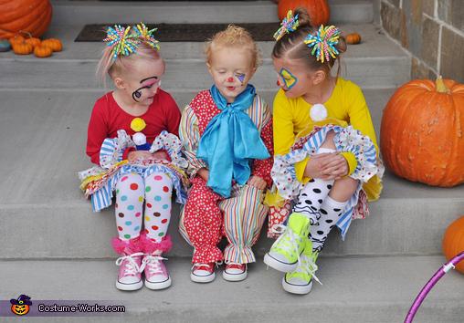 Clowning Around Homemade Costume