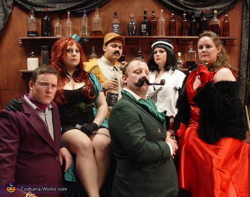 CLUE Board Game Characters Costume