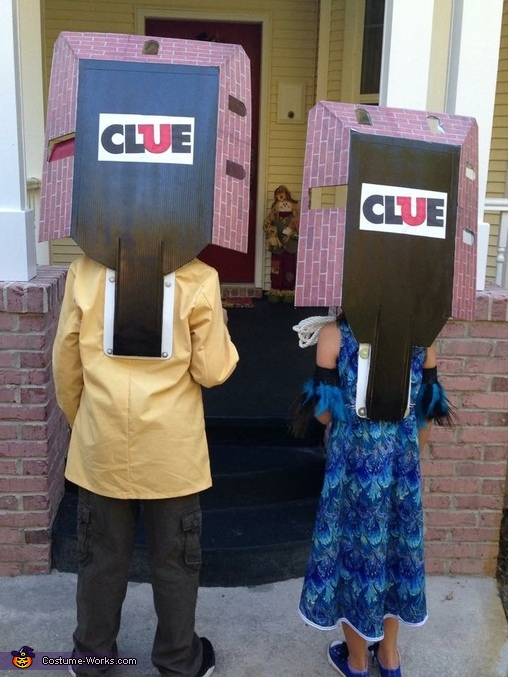 CLUE Homemade Costume