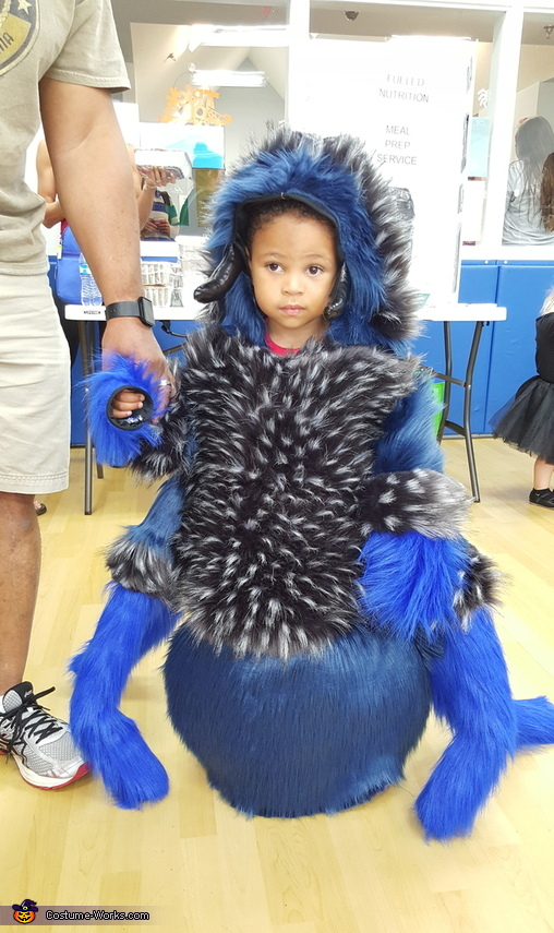 Cobalt Blue Tarantula Costume