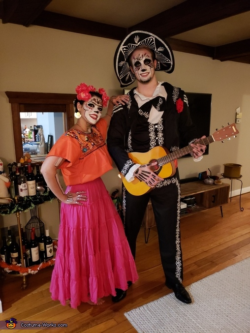 Coco: Frida and Hector Costume