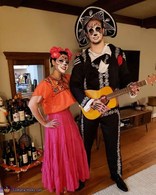Coco : Frida and Hector, Coco: Frida and Hector Costume
